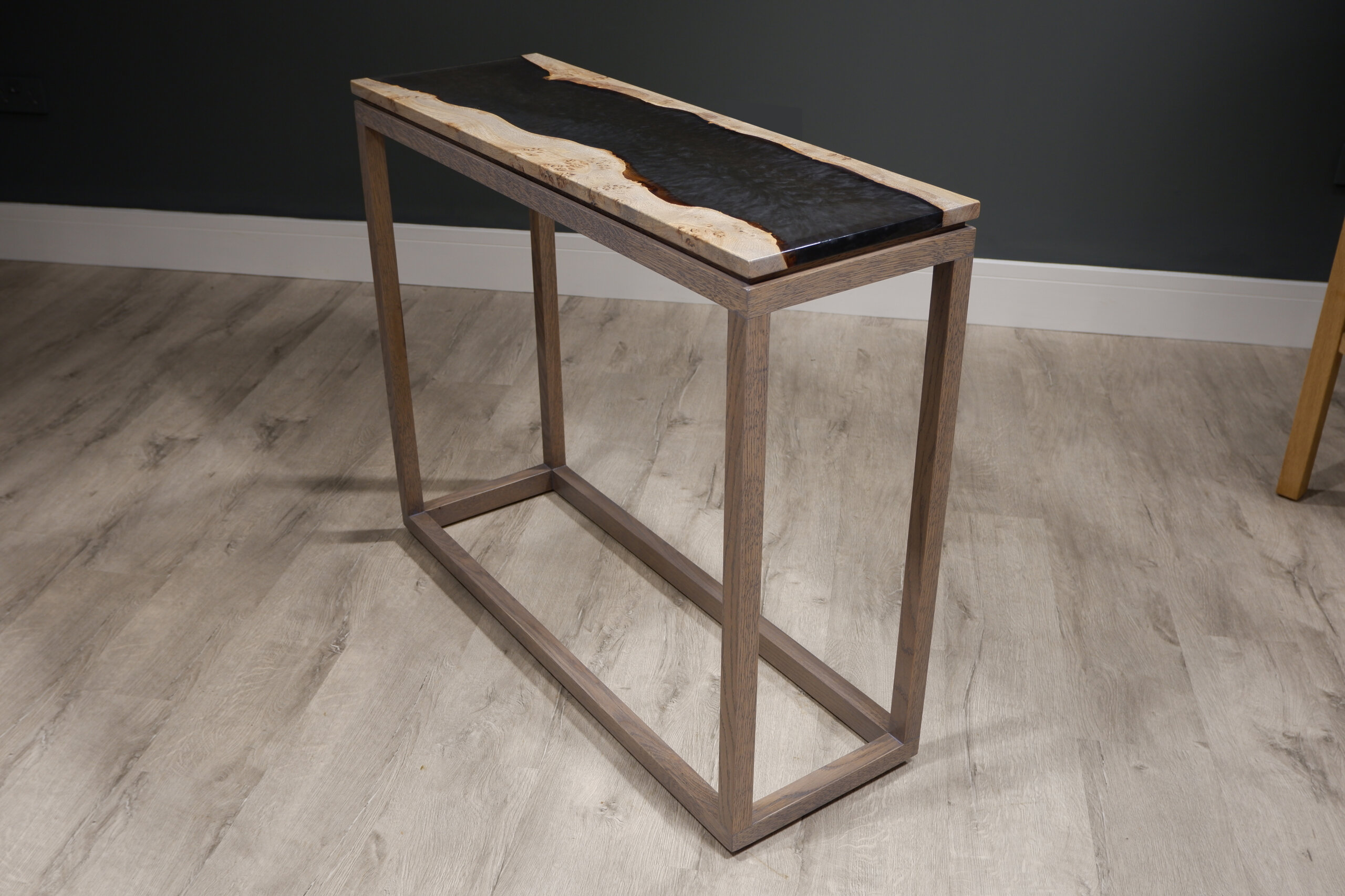 west coast river console table