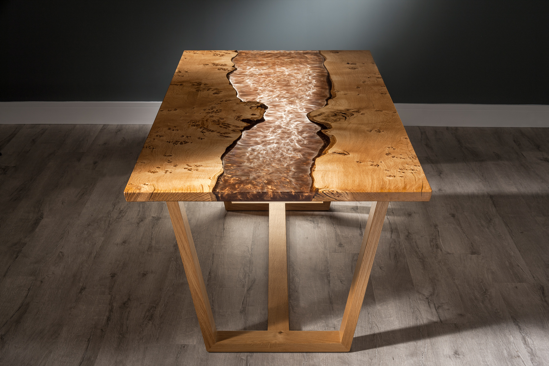 west coast river table