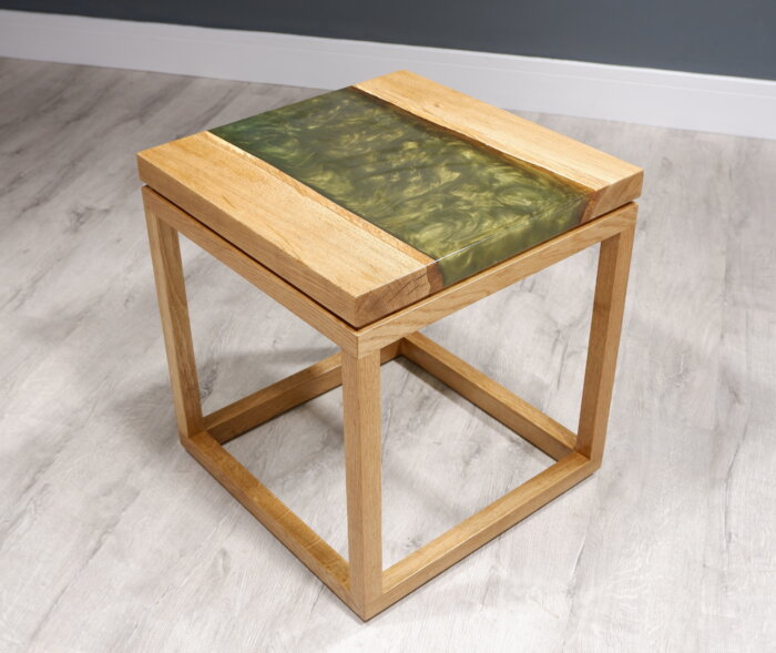 west coast river lamp table