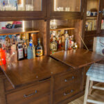 BESPOKE CHERRY DRINKS CABINET